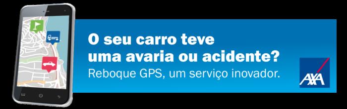 Reboque GPS da AXA Assistance