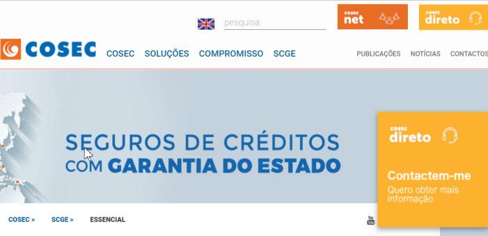Plataforma de Seguros de Créditos com a Garantia do Estado