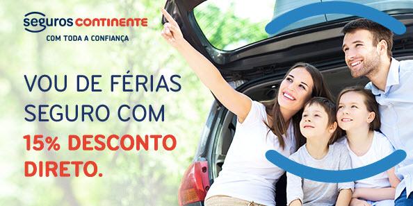 Campanha de verão de seguro auto e mota da Seguros Continente