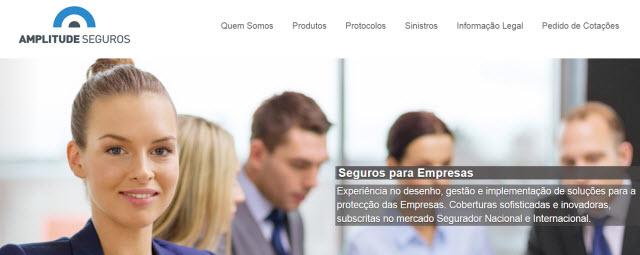 Amplitude Seguros lança novo site com visual renovado