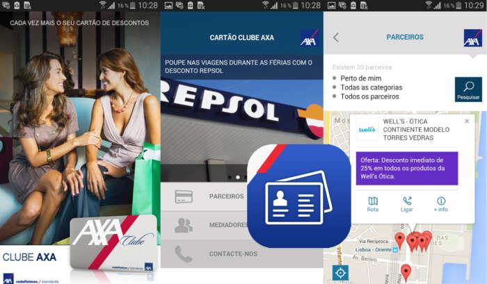 Seguradora lança o APP Clube AXA: o mundo de descontos da AXA