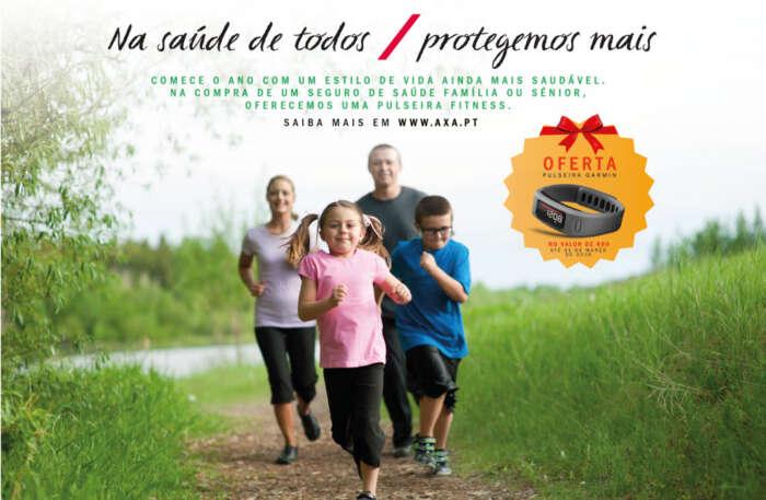 Seguro de saúde da AXA oferece pulseira fitness