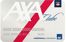 cartões clube Axa