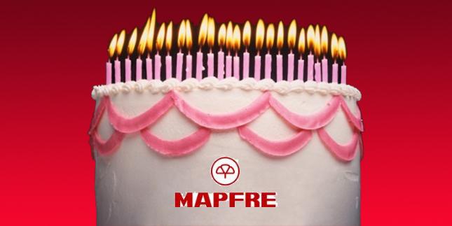 cliente festeja aniversário na MAPFRE