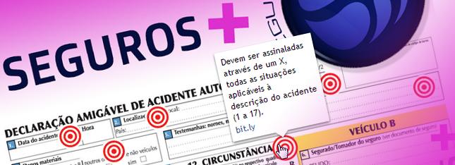 declaração amigável de acidente automóvel