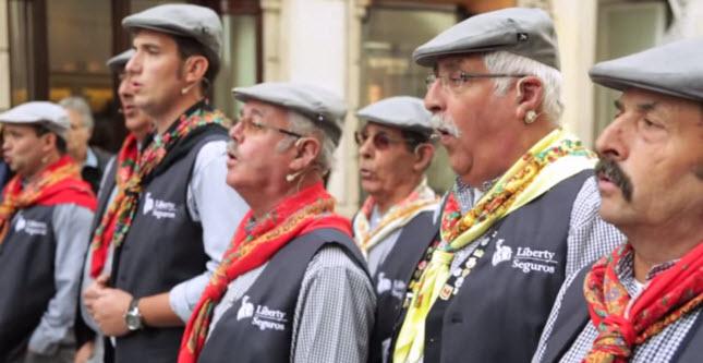 Primeiro flash mob de Cante Alentejano com o patrocínio da Liberty Seguros