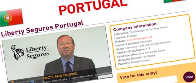 Liberty Seguros nos European Business Awards