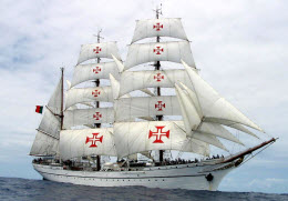 lusitania e a regata grandes veleiros