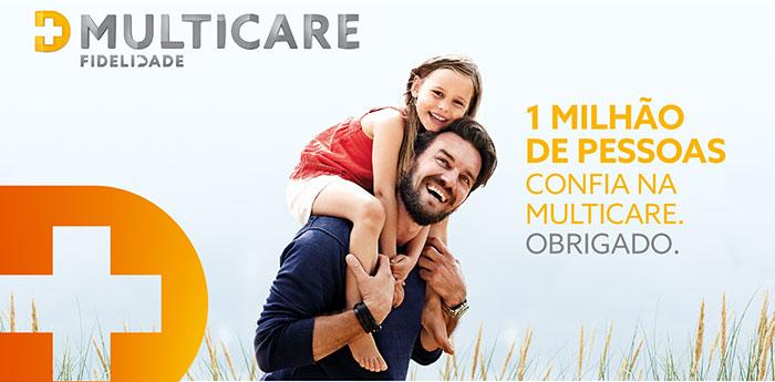 Multicare chega ao milhão de clientes de seguros de saúde