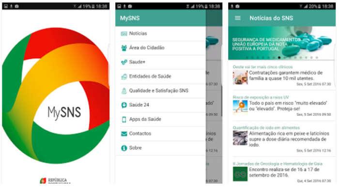 App MySNS coloca o Serviço Nacional de Saúde no seu telemóvel