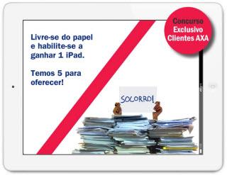 Promoção AXA oferece iPad