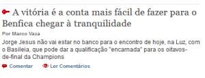 Benfica e seguradoras