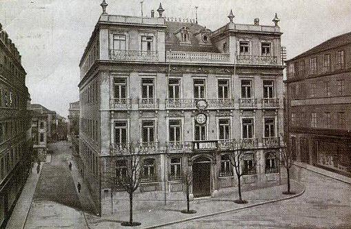 antiga sede da companhia de seguros A Mundial