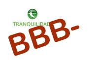 Tranquilidade com BBB-