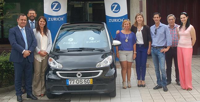Seguradora Zurich ofereceu smart fortwo em Gaia